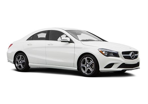 Mercedes Benz CLA Class Front Side View Exterior Picture