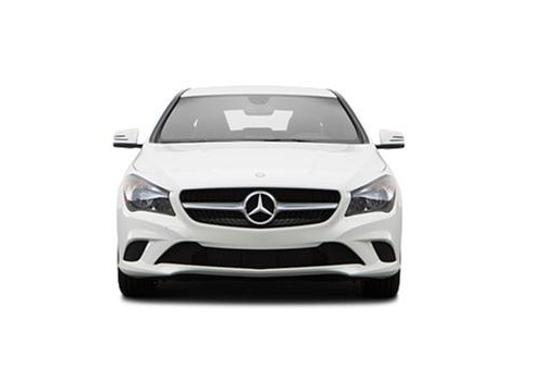 Mercedes Benz CLA Class Top View Exterior Picture