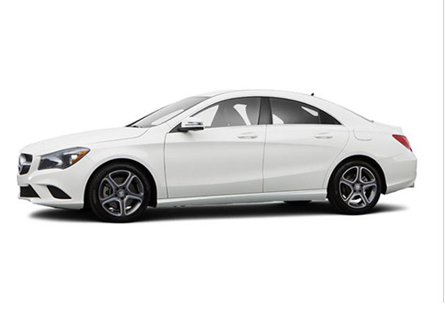 Mercedes Benz CLA Class Front Angle Low Wide Exterior Picture