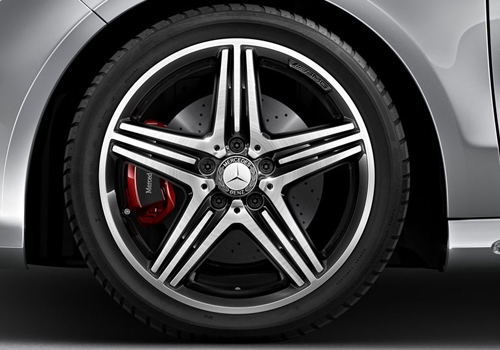 Mercedes Benz CLA Class Wheel and Tyre Exterior Picture