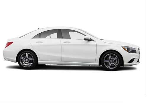 Mercedes Benz CLA Class Side Medium View Exterior Picture