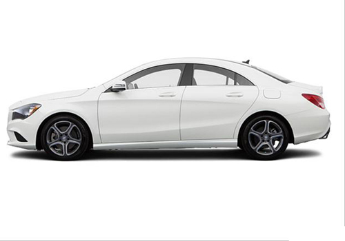 Mercedes Benz CLA Class Front Angle Side View Exterior Picture