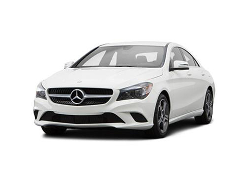 Mercedes Benz CLA Class Front High Angle View Exterior Picture