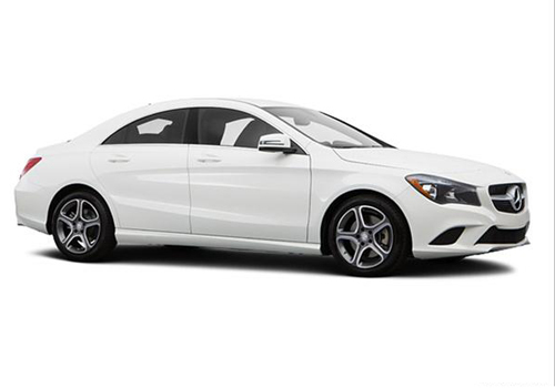 Mercedes Benz CLA Class Front Low Angle View Exterior Picture