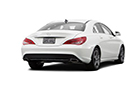 Mercedes Benz CLA Class Rear Angle View Picture
