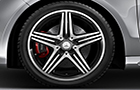 Mercedes Benz CLA Class Wheel and Tyre Picture
