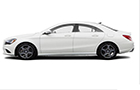 Mercedes Benz CLA Class Front Angle Side View Picture