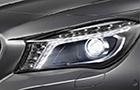 Mercedes Benz CLA Class Headlight Picture