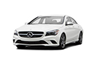 Mercedes Benz CLA Class Front High Angle View Picture
