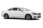 Mercedes Benz CLA Class Front Low Angle View Picture