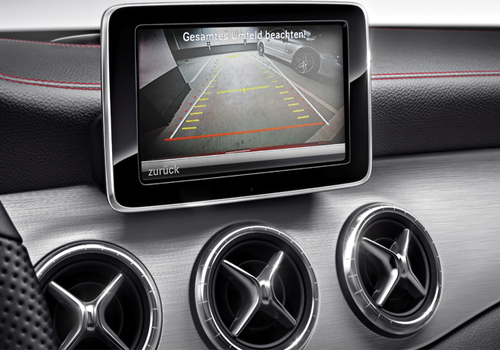 Mercedes Benz CLA Class Reversing Camera Interior Picture