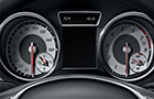Mercedes Benz CLA Class Instrument cluster display Picture