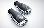 Mercedes Benz CLA Class central locking system Picture