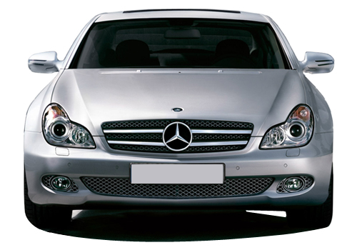 Mercedes Benz CLS 350 Front View Picture
