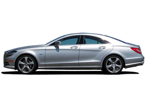 Mercedes Benz CLS Class Front Angle Side View Exterior Picture