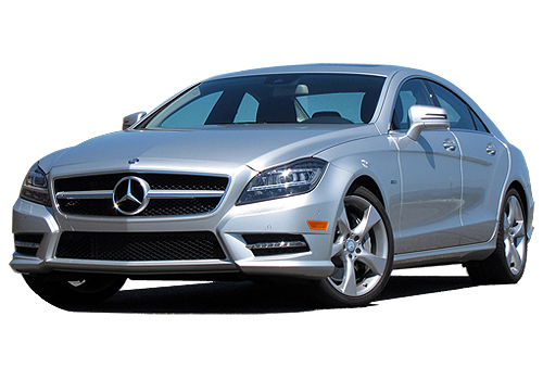 Mercedes Benz CLS Class Front High Angle View Exterior Picture