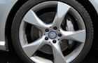 Mercedes Benz CLS Class Tyre and Wheel Pictures