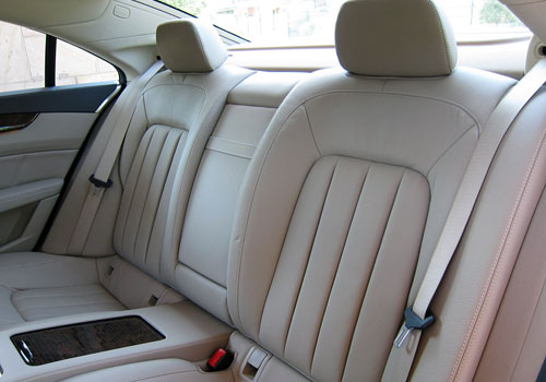 Mercedes Benz CLS Class Rear Seats Interior Picture