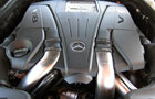 Mercedes Benz CLS Class Engine Picture