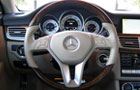 Mercedes Benz CLS Class Steering Wheel Picture