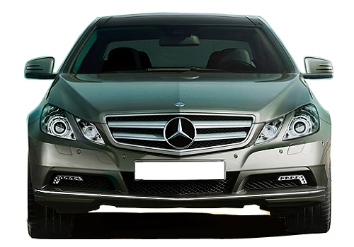 Mercedes Benz E Class Front View Exterior Picture