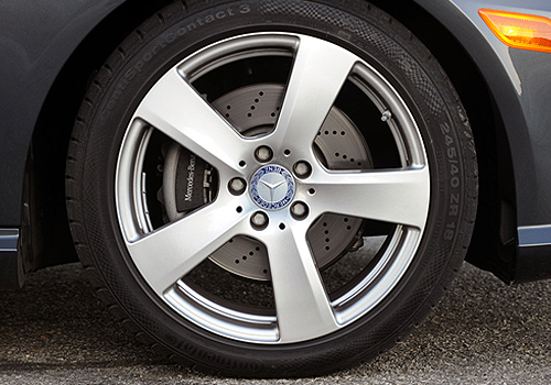 Mercedes Benz E Class Wheel and Tyre Exterior Picture