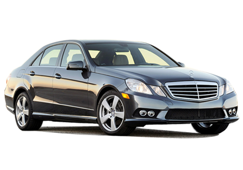 Mercedes Benz E Class Front Low Angle View Exterior Picture