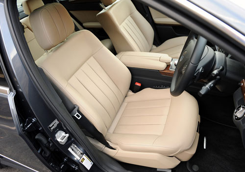 Mercedes Benz E Class Front Seats Interior Picture