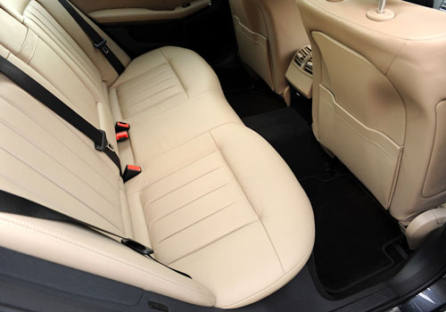 Mercedes Benz E Class Rear Seats Interior Picture