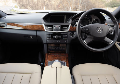 Mercedes Benz E Class Dashboard Interior Picture