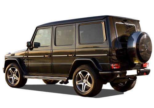 Mercedes Benz G Class Cross Side View Picture