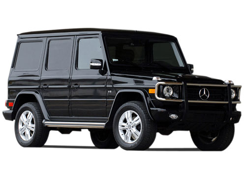 Mercedes Benz G Class Front Side View Exterior Picture