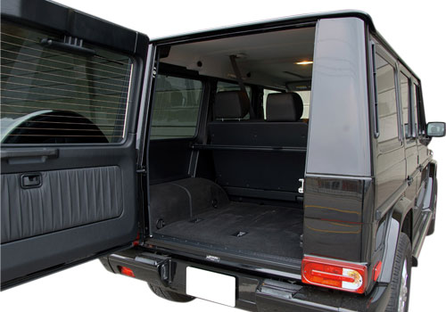 Mercedes Benz G Class Boot Open Interior Picture