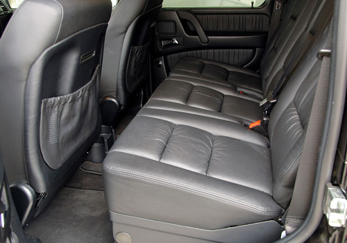 Mercedes Benz G Class Rear Seats Interior Picture