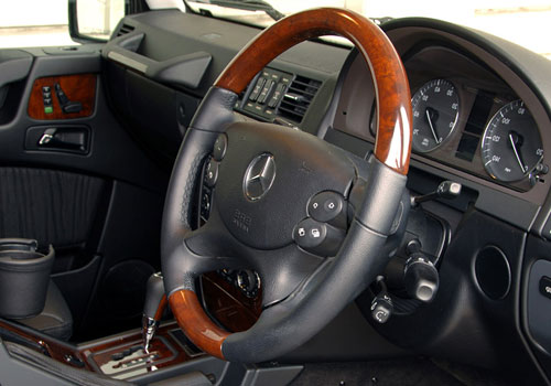 Mercedes Benz G Class Steering Wheel Interior Picture