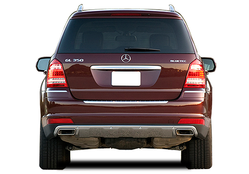 Mercedes Benz GL Class Rear View Exterior Picture