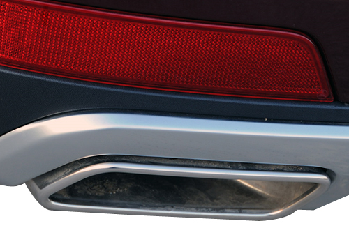 Mercedes Benz GL Class Exhaust Pipe Exterior Picture