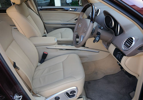 Mercedes Benz GL Class Front Seats Interior Picture