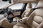 Mercedes-Benz GLA Class Front Seats Picture