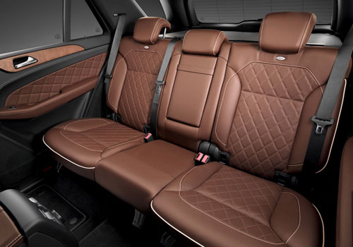 Mercedes Benz M Class Rear Seats Interior Picture