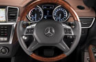 Mercedes Benz M Class Steering Wheel Picture