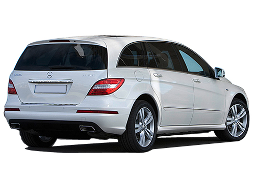Mercedes Benz R Class Rear Angle View Exterior Picture