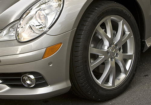Mercedes Benz R Class Wheel and Tyre Exterior Picture