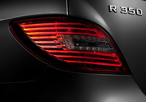 Mercedes Benz R Class Tail Light Exterior Picture
