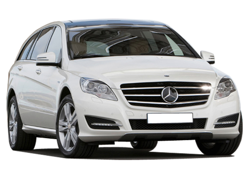 Mercedes Benz R Class Front Low Angle View Exterior Picture