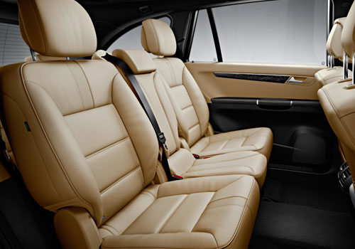 Mercedes Benz R Class Rear Seats Interior Picture