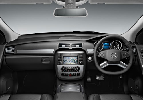Mercedes Benz R Class Dashboard Interior Picture