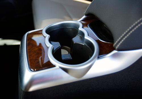 Mercedes Benz R Class Cup Holders Interior Picture