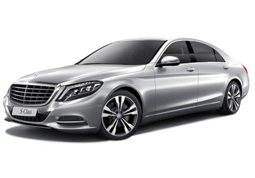 Mercedes Benz S Class Front Side View Picture