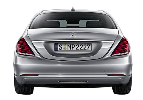 Mercedes Benz S Class Rear View Exterior Picture